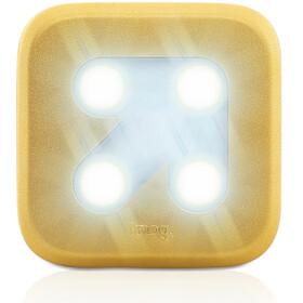 Knog Blinder 4 LED blanc, flèche, gold